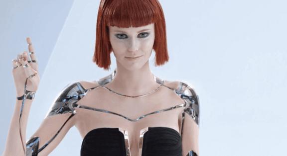 kvindelig robot