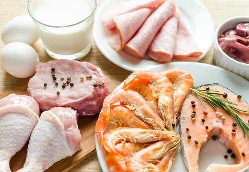 Fødevarer, som er rige på tryptofan