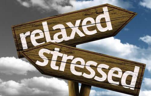 Retning med stress og retning med afslapning