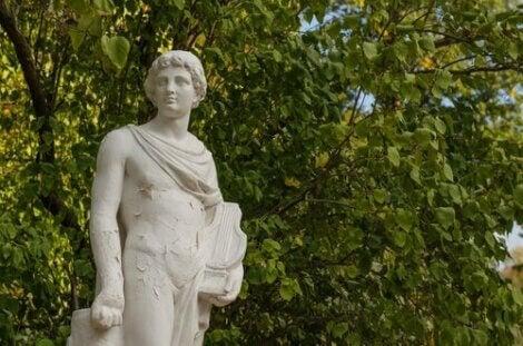 udendørs statue