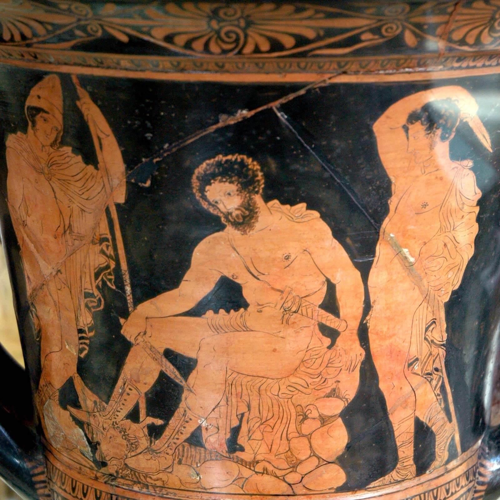 Maleri af græske guder