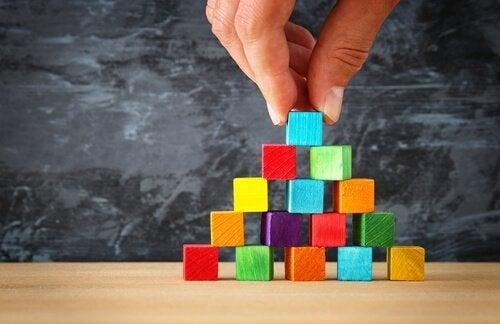 De fem niveauer i Maslows behovspyramide