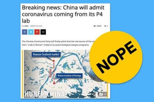 Falske nyheder om corona