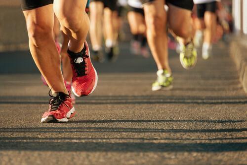 At løbe et maraton: Sindets styrke