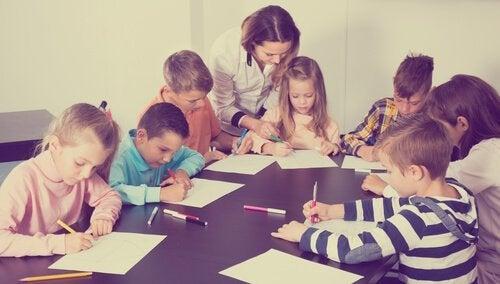 Klasseledelse hjælper med at gøre læringen lettere