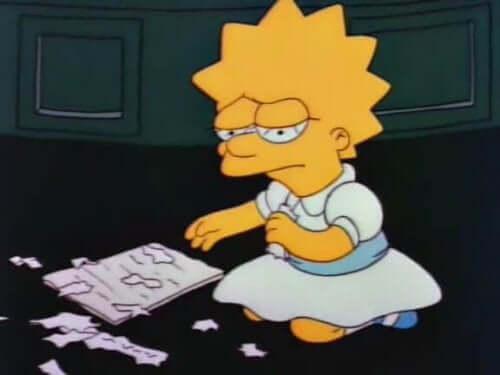 Lisa er fortvivlet
