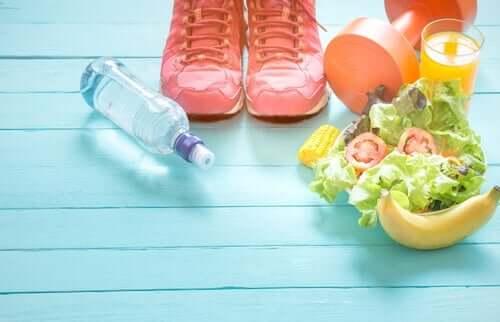 Sund kjost og træningsudstyr