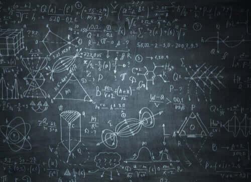 Matematiske beregninger på tavle