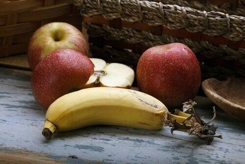 Frugt er sunde snacks