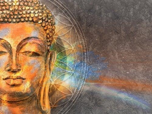 De fire forskellige typer af buddhisme