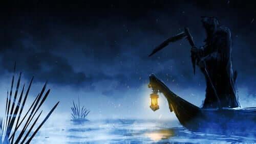 Døden på en båd