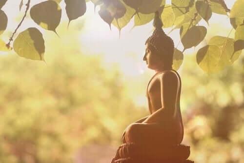 Buddhistisk statue