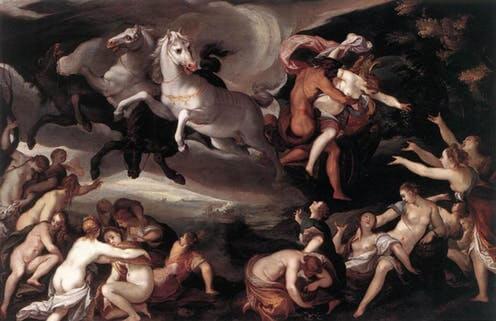 Scene fra græsk mytologi