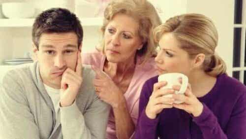 Når ens familie påvirker parforhold