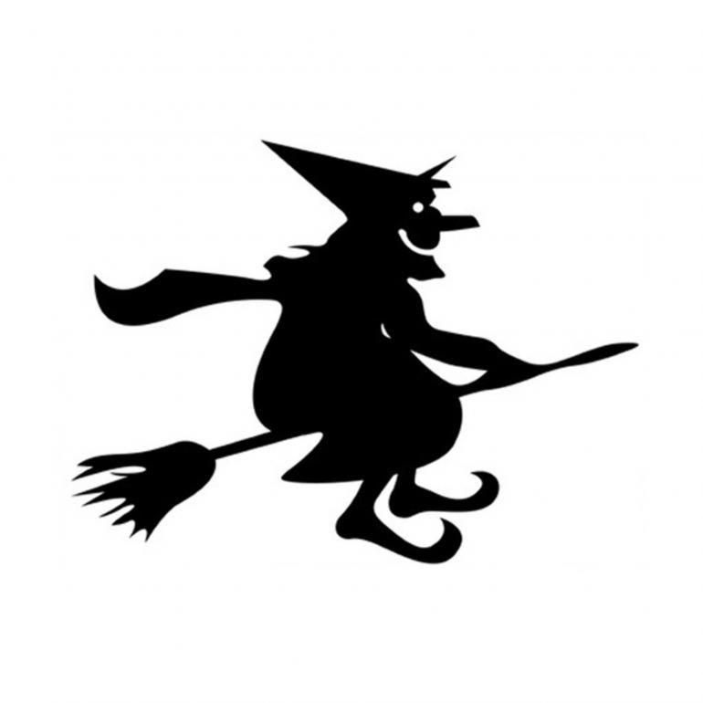 Tegning af heks er eksempel på kvindelige stereotyper i eventyr