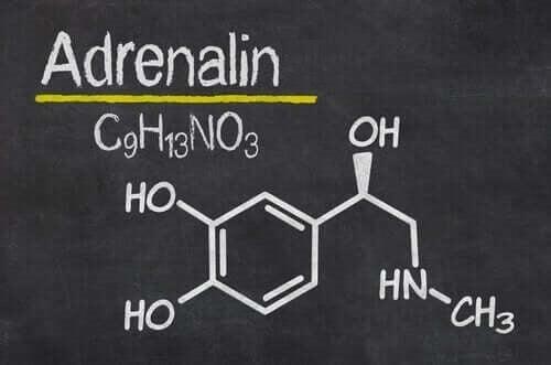 Kemisk formel for adrenalin