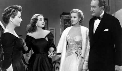 Scene med Bette Davis
