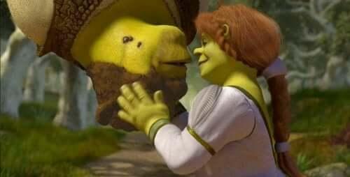Shrek og Fiona