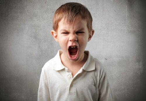 Skrigende dreng er eksempel på dyssocial personlighedsforstyrrelse hos børn