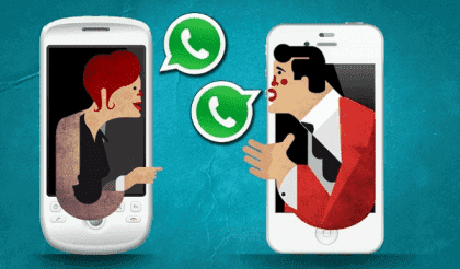 WhatsApp parret: Tekstbeskeder i parforhold