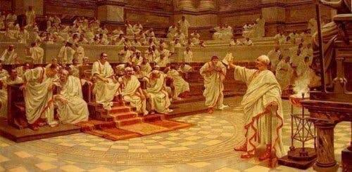 Cicero, der holder tale