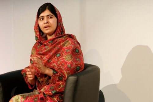 Billede af Malala