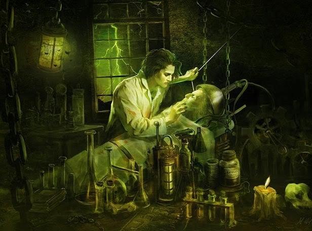 Illustration af Frankenstein syndrom