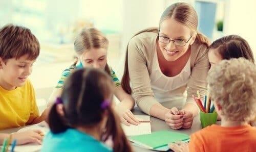 Børn i skole