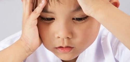 Frustreret barn