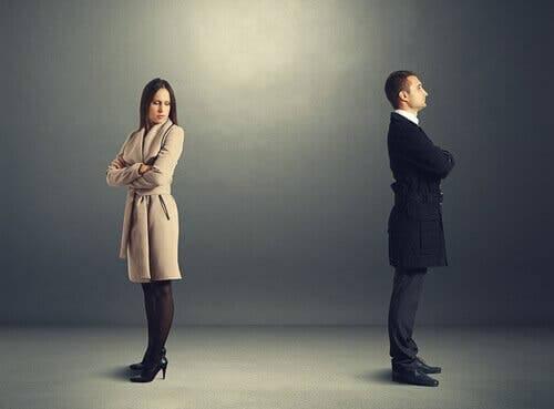Had ved første øjekast mellem mand og kvinde