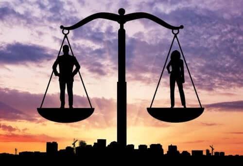 Ligevægt mellem køn