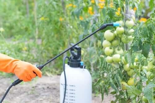 Der anvendes mange pesticider