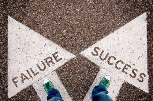 vedholdenhed afgør vejen mod nederlag eller succes