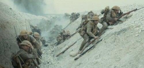 Scene fra filmen 1917