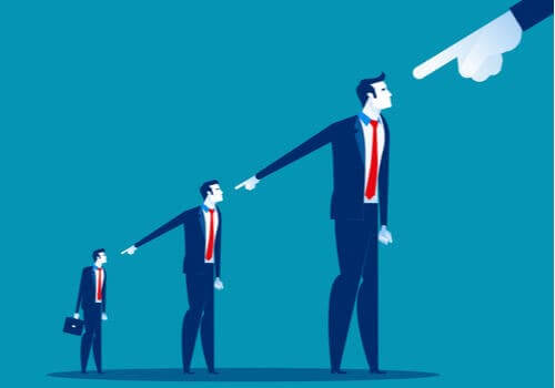 At beskylde andre som strategi