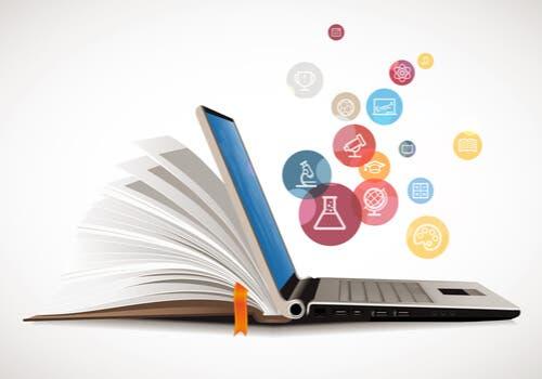 Bog bliver til computer