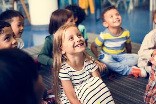 Glade børn til undervisning