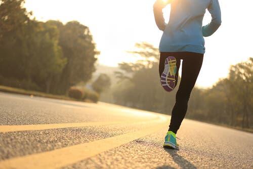 Person, der løber