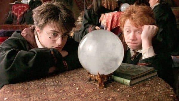 Scene fra Harry Potter
