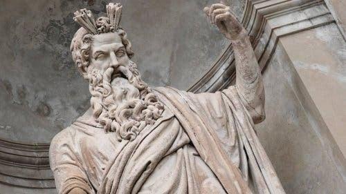 Statue af gud