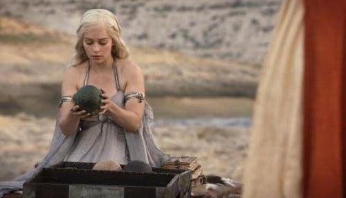 Daenerys i scene