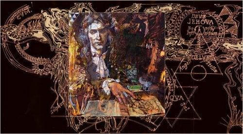 Abstrakt repræsentation af Newton