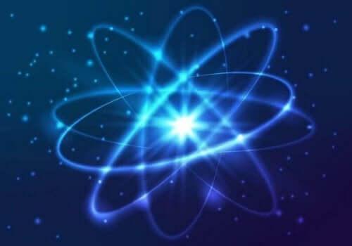 Billede af et atom