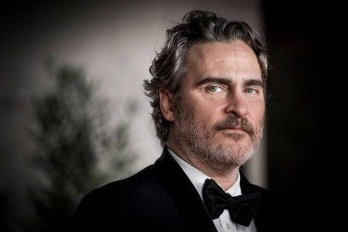 Joaquin Phoenix efter han havde vundet sin Oscar