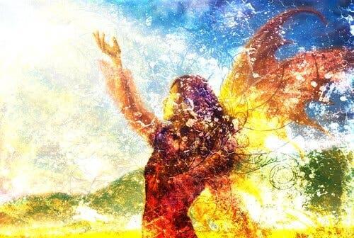 Maleri af fe
