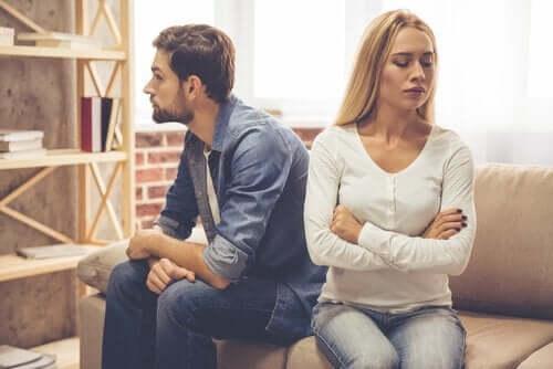 Par, der er irriterede over hinanden
