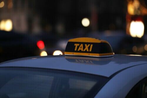 At køre taxi er et af de mere usunde jobs
