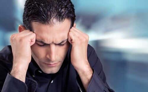 Mand med stress