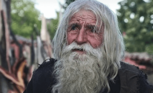 Bedstefar Dobri: Den hellige tigger