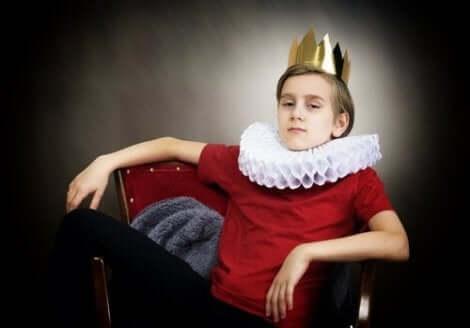 Nogle børn behandles som kongelige